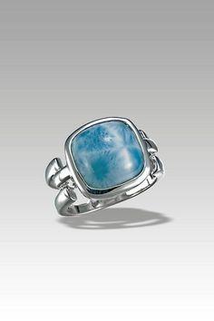 Larimarket - MarahLago DelMar Collection Cushion Cut Larimar Ring, $168.00 (http://www.larimarket.com/marahlago-delmar-cushion-cut-larimar-ring/)