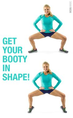 Get that saggy booty lifted and tight with this lower body fitness move!