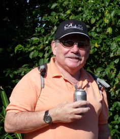 Robin Henry wears his TAG Heuer 1000 Professional 200 M (which he's owned for 20 years) while at the Durban Botanical Gardens.