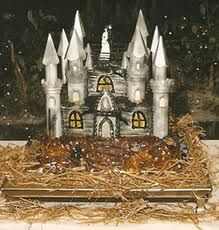 Haunted Mansion castle Cake.