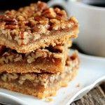 Pecan Bars- My Baking Addiction