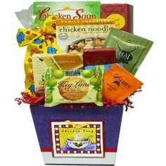 Chicken Soup Get Well Gift Basket