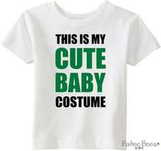 Cute Baby Costume Funny Halloween Costume Halloween by BabeeBees