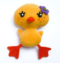 Duck plush