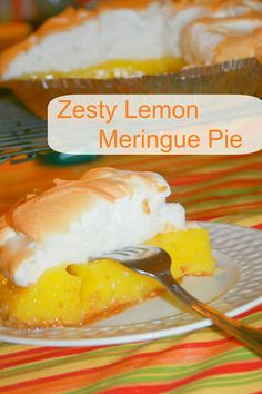 The best Lemon Meringue Pie recipe!
