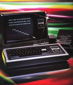 The Tandy TRS 80. My first computer.