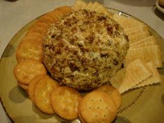 Vegan party cheese ball