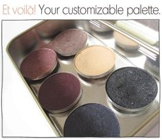 Use an Altoid tin to create your purse makeup palette!