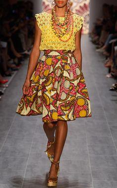 Lena Hoschek | Burundi skirt. #Africanfashion #AfricanClothing #Africanprints #Ethnicprints #Africangirls #africanTradition #BeautifulAfricanGirls #AfricanStyle #AfricanBeads #Gele #Kente #Ankara #Nigerianfashion #Ghanaianfashion #Kenyanfashion #Burundifashion #senegalesefashion #Swahilifashion DK