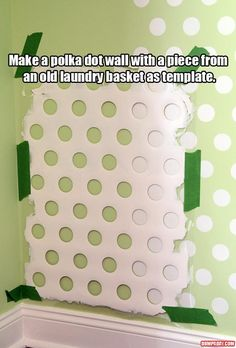a paint with a template fun craft ideas
