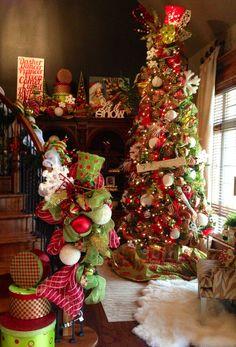 tree skirt, red green christmas, tree decor, green christmas trees, christma tree