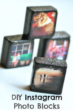One of these could be good on each table?! DIY Instagram Photo Blocks | Intimate Weddings - Small Wedding Blog - DIY Wedding Ideas for Small and Intimate Weddings - Real Small Weddings Daily update on my site: iliketodecorate.com