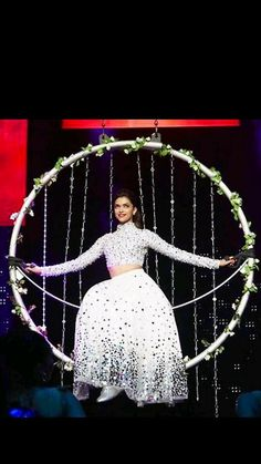 Deepika Padukone on stage at Slam Tour New Jersey (2014)