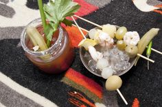 Citrus-twisted Bloody Mary.