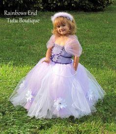 Sofia the First Tutu Dress by whererainbowsend1,
