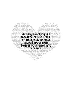 Visit teaching printable