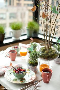 Watercolor Butterfly Brunch for Spring Celebrations