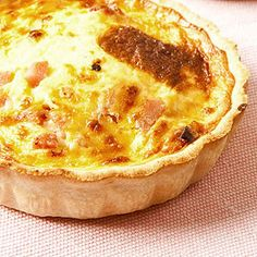Atkins Cheddar and Green Onion Pie