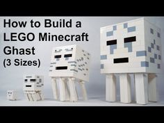 How To Build a LEGO Minecraft Ghast - YouTube
