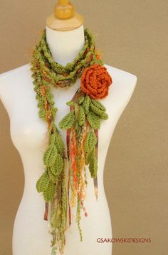 Queen Ann Rose scarf- This is beautiful!
