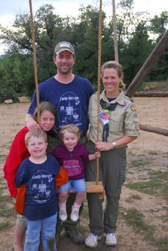 Want to go to Family Camp this summer?  While Cub Scout leaders are in training, their families have fun with their age groups. Every day is packed with Scout spirit & adventure in the outdoors!  Depending on their ages, participants ride horses, shoot BB guns or .22s, swim, do archery, handicraft, C.O.P.E., & more! There is a Nursery & a playground for younger children. Kids think this is as fun as Disneyland, & it's a lot less expensive, too!  Scouts 12+ have the option to attend Timberline.