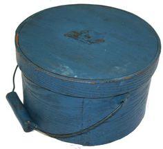 small painted pantry box   Country Treasures treasur inventori, earli pantri, paint pantri, countri treasur, pantri box