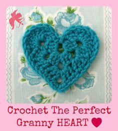 ALEXANDRA MACKENZIE: The Perfect Granny Heart pattern