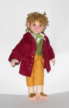 Bilbo Baggins Art Doll The Hobbit Martin Freeman by ~LilliamSlasher on deviantART