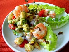 Ensalada de gambas | Shrimp Salad #primavera #Lizarran