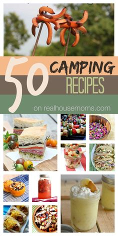 This collection of 50 Camping Recipes from some of your favorite bloggers will be your go to resource to help plan your next camping trip!