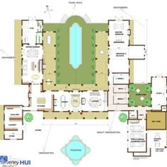 Floor Plans On Pinterest U Shaped Houses Floor Plans