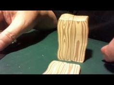 02-20-2013 Making Faux Pine Cane #polymer