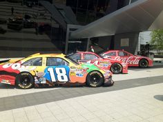 With NASCAR Chairman Brian France on CNBC today at 4:45 pm ET, our parking lot is a whole lot louder.