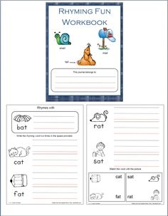 I have added a Rhyming fun book to 1 - 2 - 3 Learn Curriculum. You will find this under the link Assorted Sheets - bottom left hand side.  I plan on printing these up on white card stock and binding them. :)  To learn how to become a member of 1 - 2 - 3 Learn Curriculum or free downloads, please click on the picture.  In Home annual membership $30.00. Center annual membership $55.00.