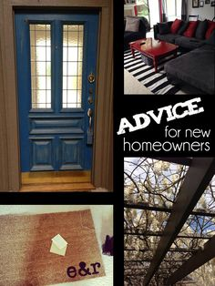 Just bought your first #home? Here are tips and advice from other first time homeowners.