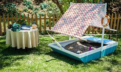 Home & Family - Tips & Products - Laura Nativo's DIY Doggie Sandbox   Hallmark Channel