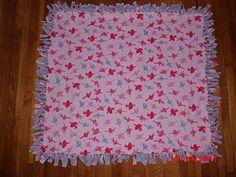 No-Sew Fleece Blankets