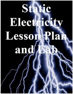 "FREE SCIENCE LESSON - ""Static Electricity Lab"" - Go to The Best of Teacher Entrepreneurs for this and hundreds of free lessons.  http://thebestofteacherentrepreneurs.blogspot.com/2012/11/free-science-lesson-static-electricity.html"