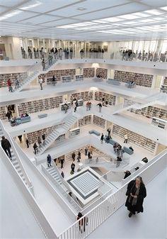 Stuttgart Central Library, Stuttgart, Germany