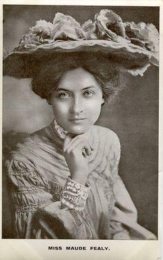 Maude Fealy, 1902.  American actress.