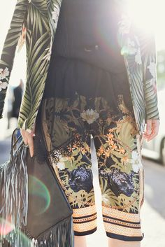 DIY scarf trousers