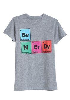 Be Nerdy