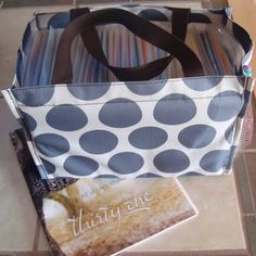 Thirty One All in One Organizer - holds CTMH stamps perfectly!