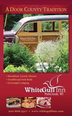 White Gull Inn - Fish Creek - Bed and Breakfast - www.DoorCountyToday.com.