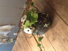 Workshop bloemschikken winter/kerst by edith