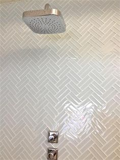 "Lush® 1x4 subway tile ""Cloud Weave Pattern"""