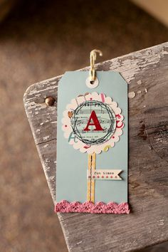 circles, flags, initials, gifttag, gift tags, flowers, october afternoon, diy wedding, simple gifts