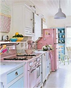 kitchens with big chill appliances | Sweet Big Chill Kitchen Looks & Recipes | Big Chill: Modern Made ...