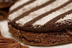 torta soufle de chocolate