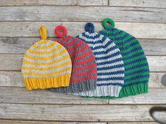 Knit pattern- Baby hats #1